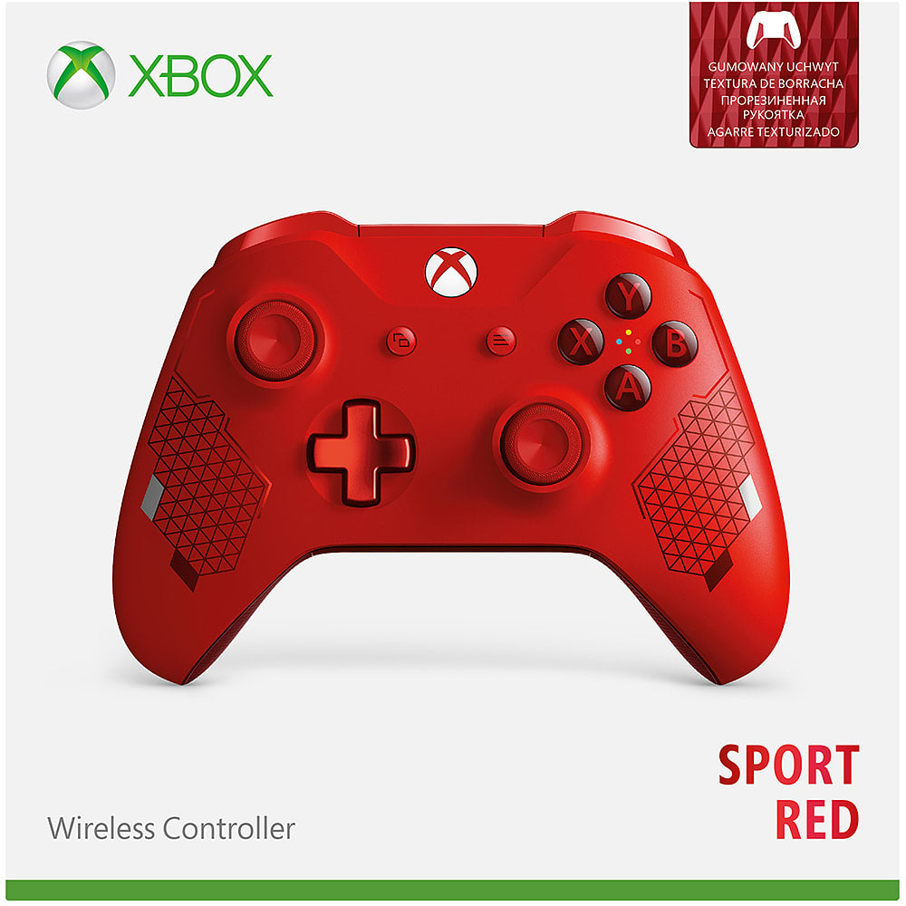 Xbox Wireless Controller - Sport Red Special Edition - Offer Games