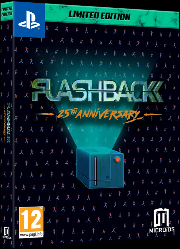 Flashback 25th Anniversary Limited Edition (PS4) - Offer Games