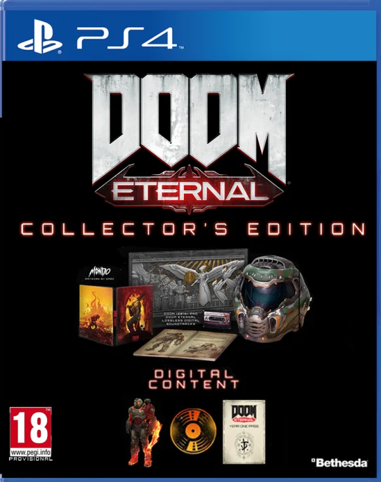 DOOM Eternal Collectors Edition (PS4) - Offer Games