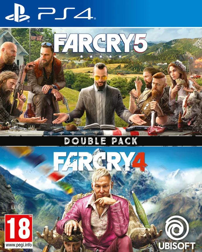 Far Cry 5/Far Cry 4 Double Pack (PS4) - Offer Games