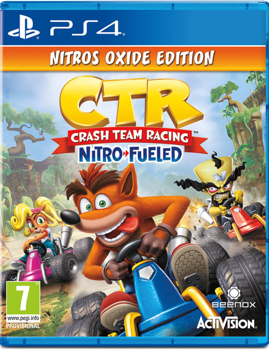 Crash Team Racing: Nitro Fueled - Nitros Oxide Edition (PS4) - Offer Games