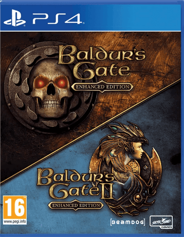 Baldur's Gate I & II: Enhanced Edition (PS4)