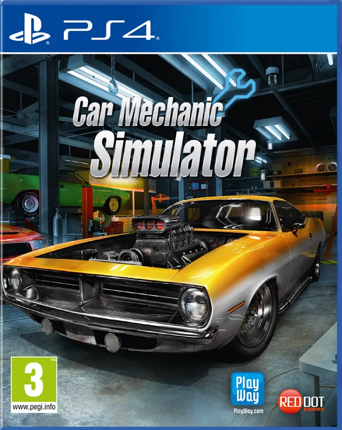 Car Mechanic Simulator (PS4) - Offer Games