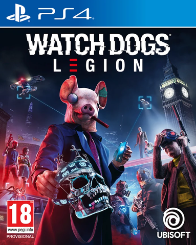 Watch Dogs Legion (PS4) - Offer Games