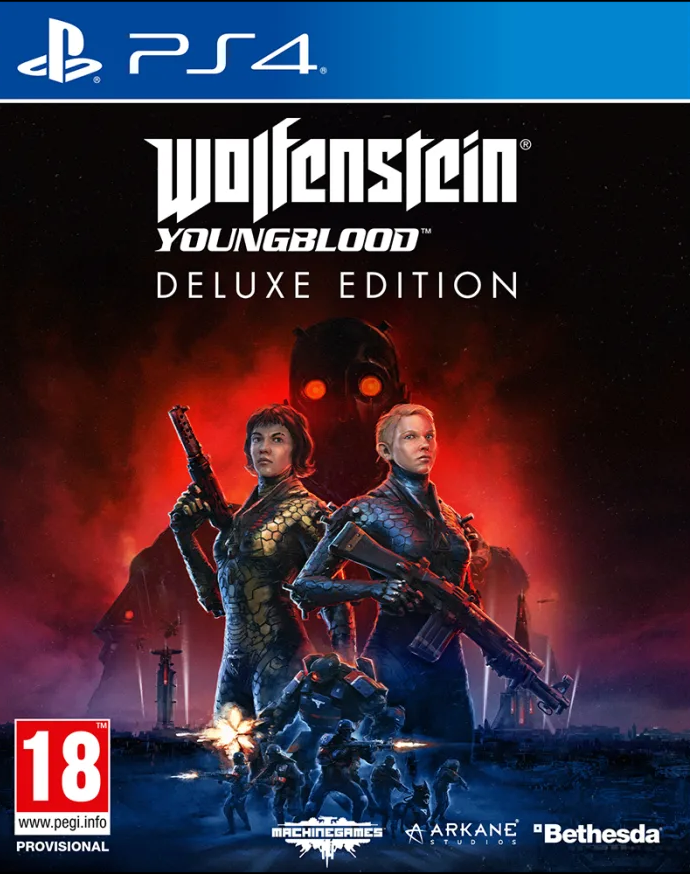 Wolfenstein: Youngblood Deluxe Edition (PS4) - Offer Games