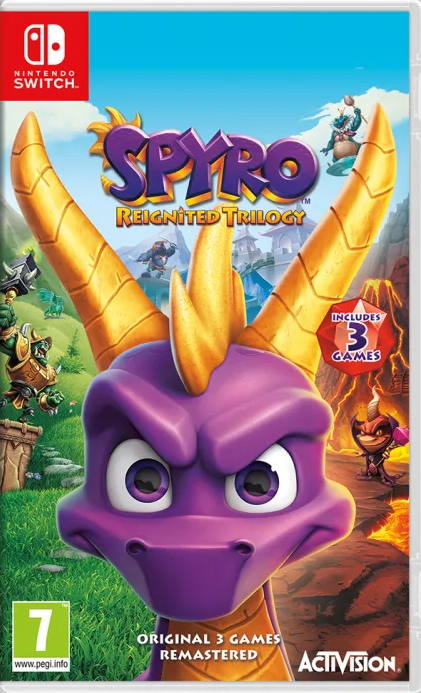 Spyro Reignited Trilogy (Nintendo Switch) - Offer Games