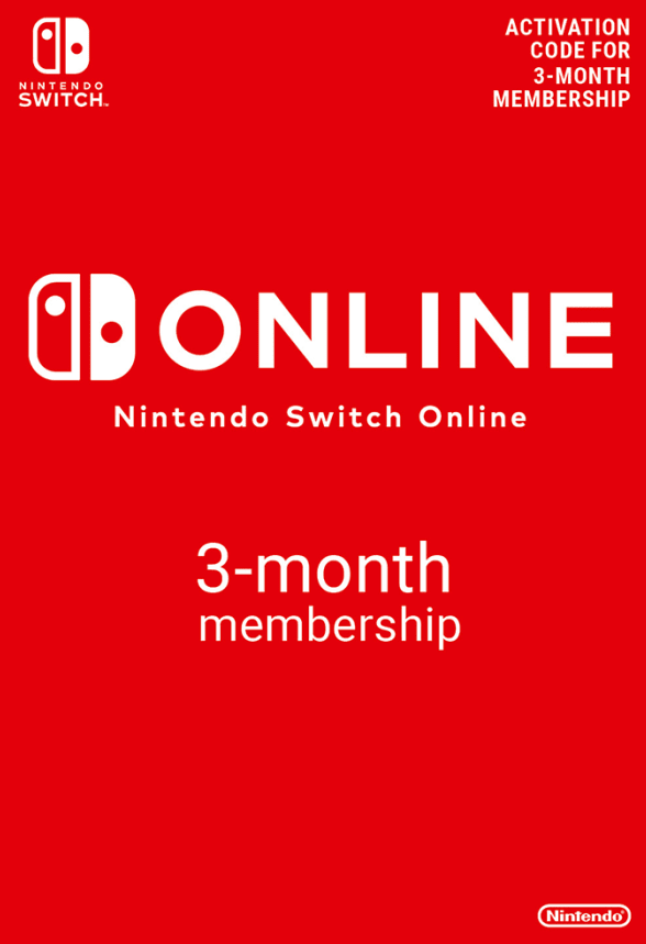 Nintendo Switch Online Membership - 3 Months (Nintendo Switch Download)