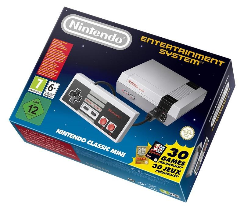 Nintendo Classic Mini: Nintendo Entertainment System - Offer Games