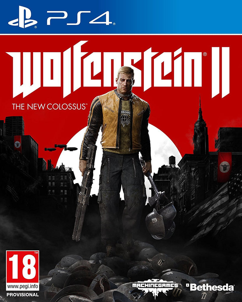 Wolfenstein II: The New Colossus (PS4) - Offer Games