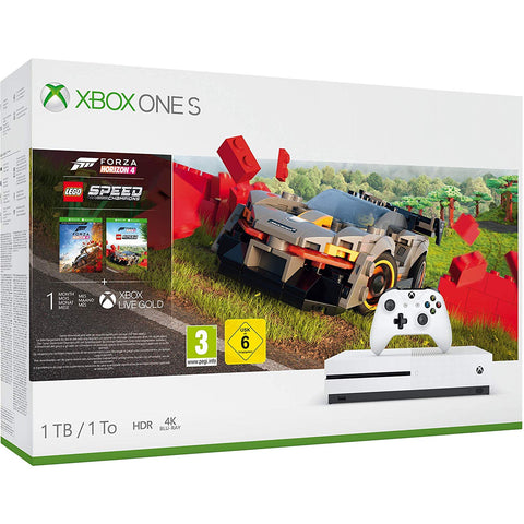 Xbox One S 1TB Console - Forza Horizon 4 Lego Speed Champions Bundle (Xbox One) - Offer Games