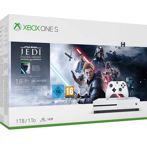 Xbox One S 1TB Console - Star Wars Jedi: Fallen Order Bundle (Xbox One) - Offer Games