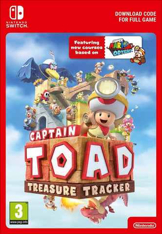 Captain Toad: Treasure Tracker (Nintendo Switch Download)