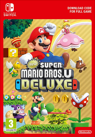 New Super Mario Bros. U Deluxe (Nintendo Switch Download)