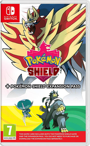 Pokemon Shield + Expansion Pass + Steelbook (Nintendo Switch)