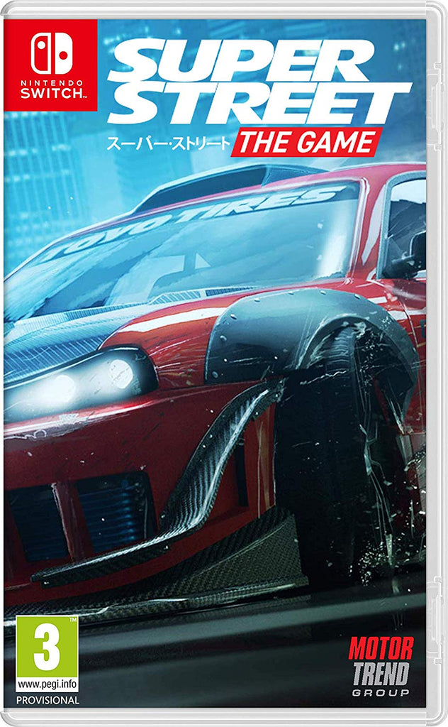 Super Street: The Game (Nintendo Switch) - Offer Games