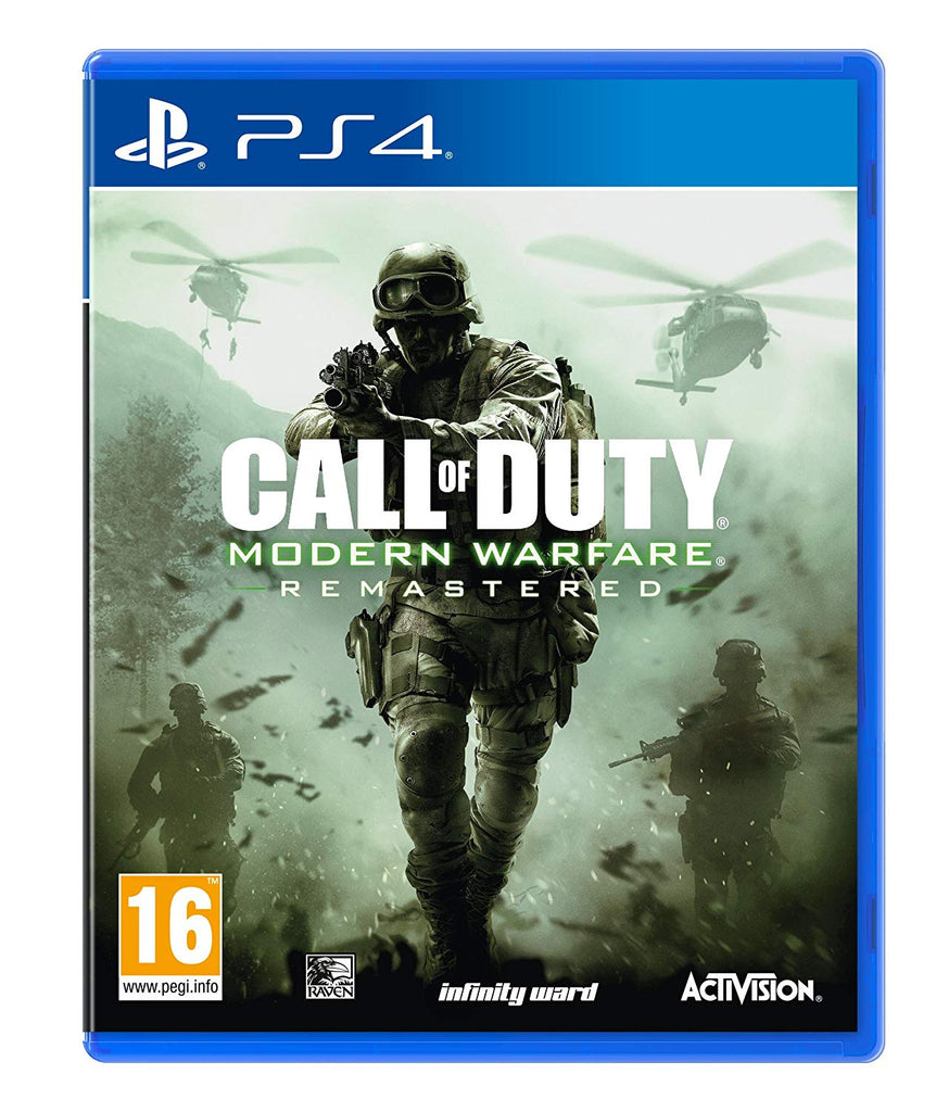 Call of Duty Modern Warfare Remastered (PS4) - Offer Games