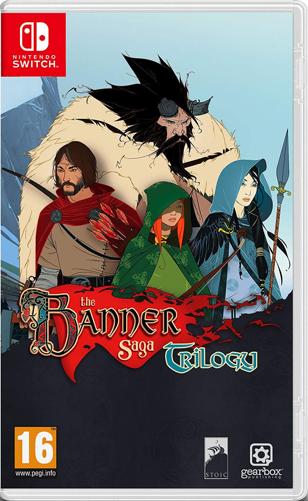 The Banner Saga Trilogy (Nintendo Switch) - Offer Games