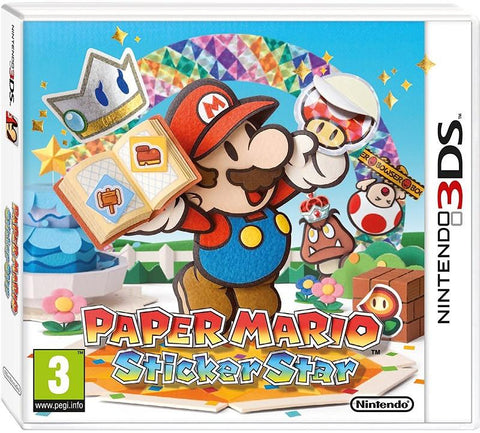 Paper Mario Sticker Star (3DS) - Offer Games