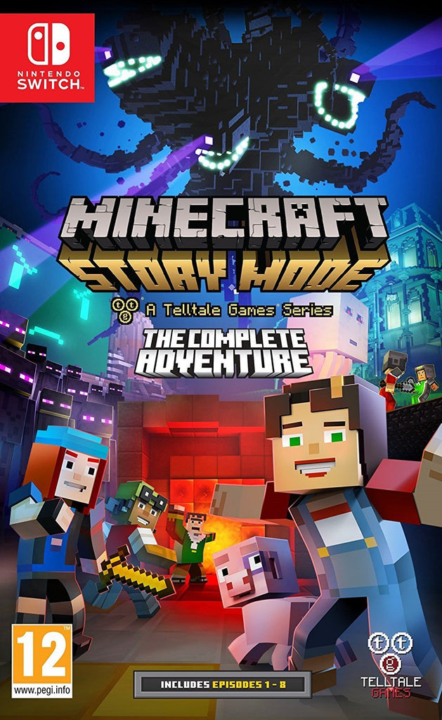 Minecraft Story Mode: The Complete Adventure (Nintendo Switch) - Offer Games