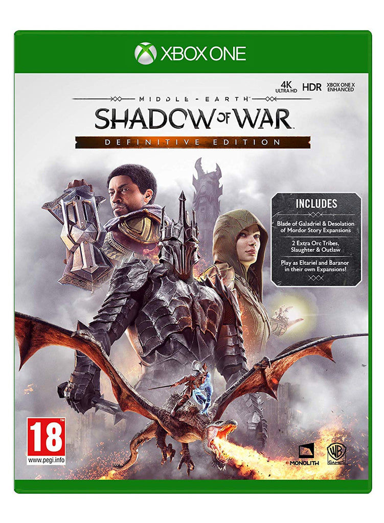 Middle Earth: Shadow of War Definitive Edition (Xbox One) - Offer Games