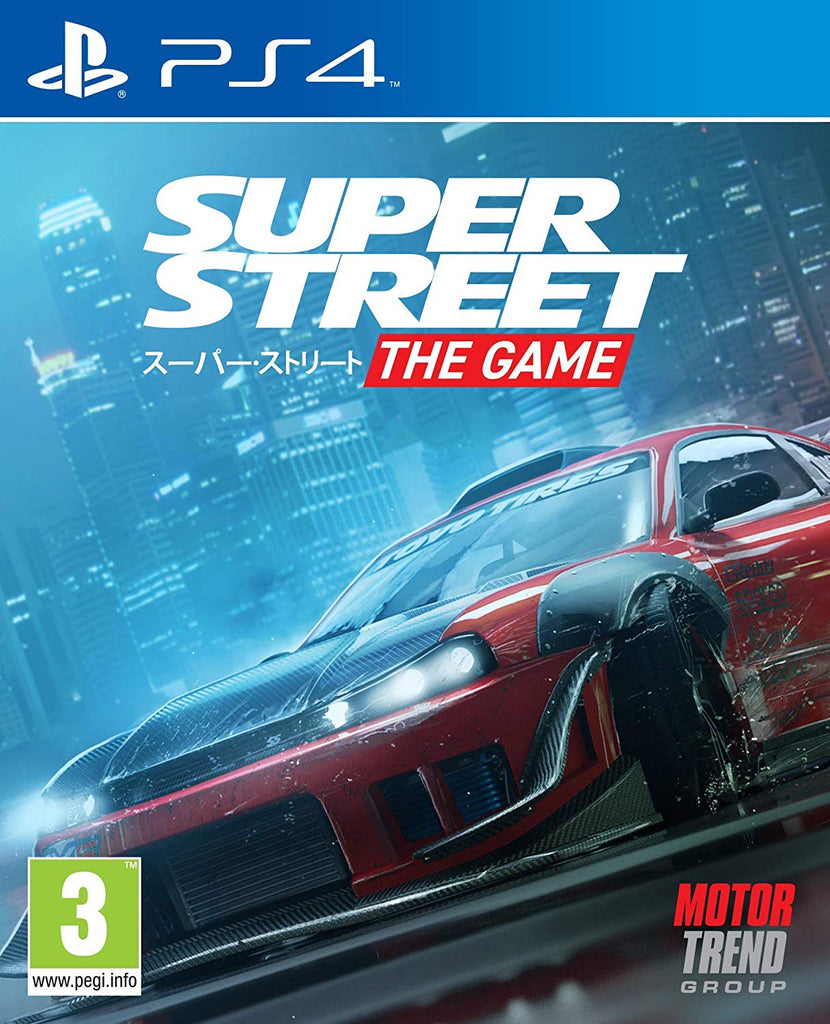 Super Street: The Game (PS4) - Offer Games