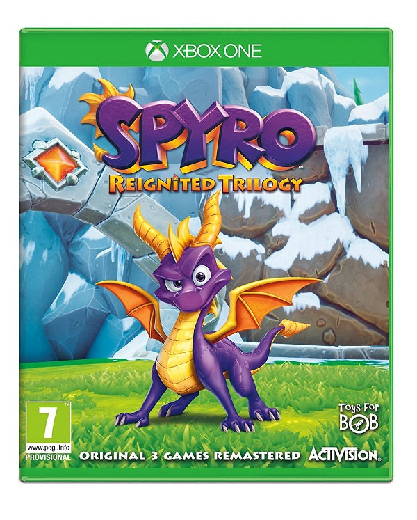 Spyro Trilogy Reignited (Xbox One) - Offer Games