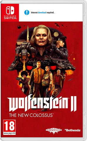 Wolfenstein 2: The New Colossus (Nintendo Switch) - Offer Games