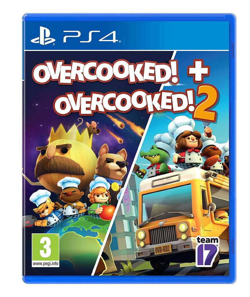 Overcooked! + Overcooked! 2 (PS4) - Offer Games