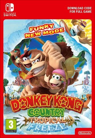 Donkey Kong Country: Tropical Freeze (Nintendo Switch Download)