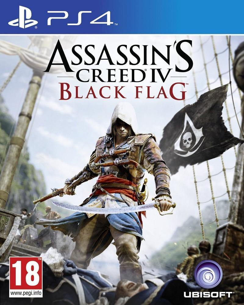 Assassin's Creed IV: Black Flag (PS4) - Offer Games