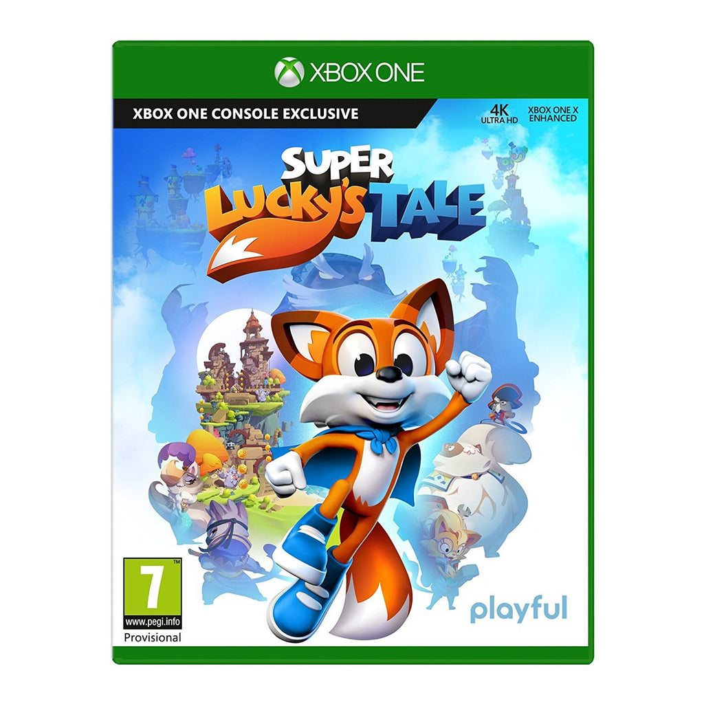 Super Lucky's Tale (Xbox One) - GameIN