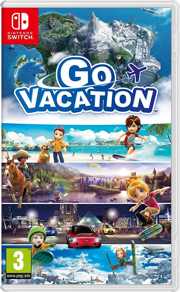 Go Vacation (Nintendo Switch) - Offer Games