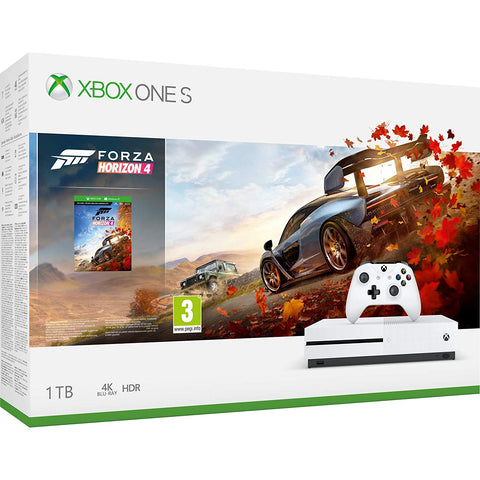Xbox One S + Forza Horizon 4 (1TB) - Offer Games