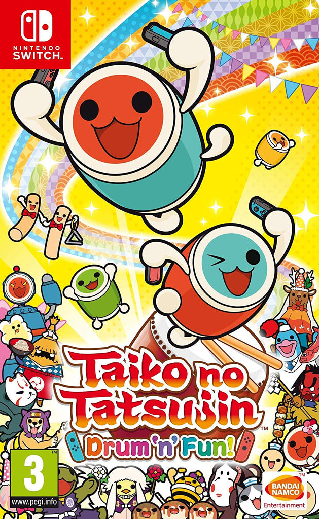 Taiko no Tatsujin: Drum 'n' Fun! (Nintendo Switch) - Offer Games