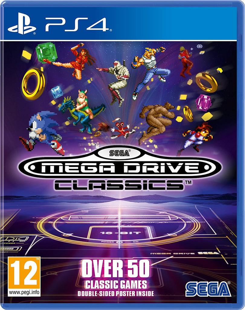 SEGA Mega Drive Classics (PS4) - Offer Games