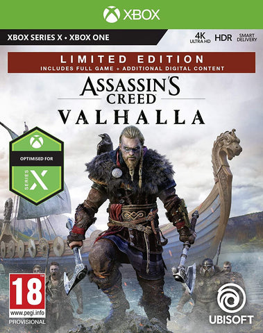 Assassin's Creed Valhalla Limited Edition (Xbox Series X)