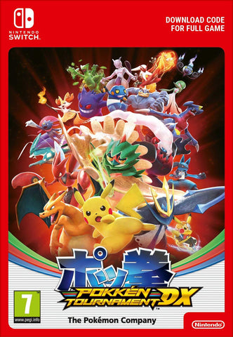 Pokkén Tournament DX (Nintendo Switch Download) - Offer Games