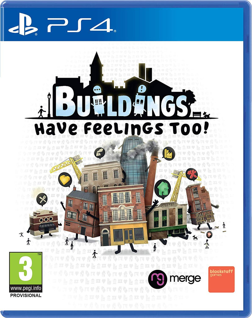 Buildings Have Feelings Too! (PS4) - Offer Games