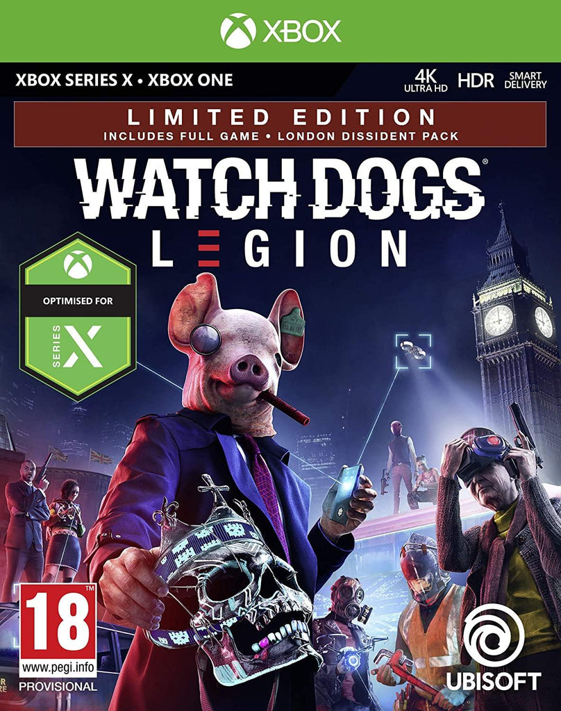 Watch Dogs Legion Limited Edition (Xbox Series X)