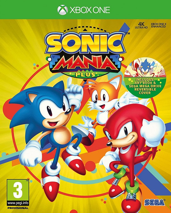 Sonic Mania Plus (Xbox One) - Offer Games