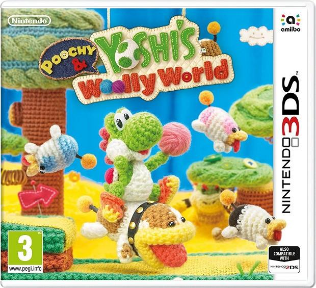 Poochy and Yoshi's Woolly World (3DS) - Offer Games