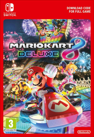 Mario Kart 8 Deluxe (Nintendo Switch Download) - Offer Games