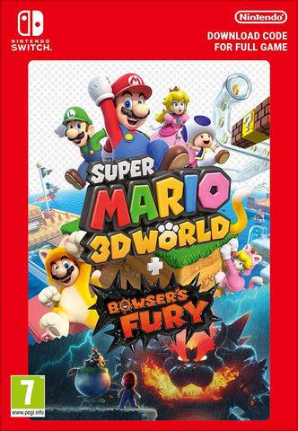 Super Mario 3D World + Bowser's Fury (Nintendo Switch Download)