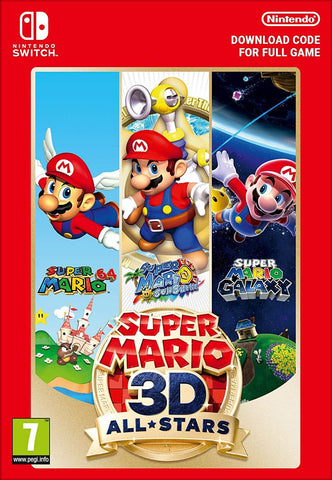 Super Mario 3D All-Stars (Nintendo Switch Download Code)
