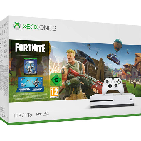 Xbox One S + Fortnite (1TB) - Offer Games