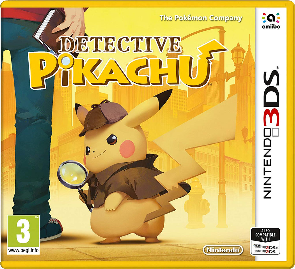 Detective Pikachu (Nintendo 3DS) - Offer Games