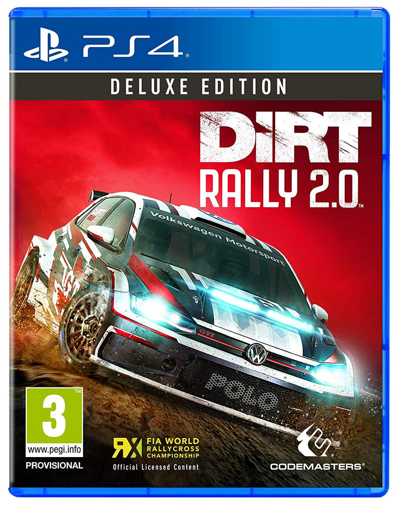 DiRT Rally 2.0 Deluxe Edition (PS4) - Offer Games