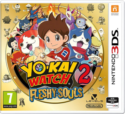 YO-KAI WATCH 2: Fleshy Souls (3DS) - Offer Games