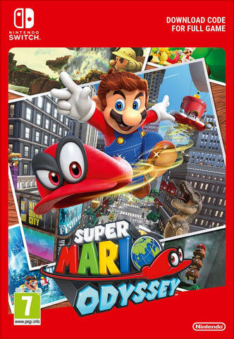 Super Mario Odyssey (Nintendo Switch Download) - Offer Games