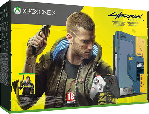 Xbox One X Cyberpunk 2077 Limited Edition Bundle 1TB (Xbox One)